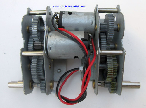 Heng Long Metal Gear and Motor Unit  For  RC Tiger 1 Tank 3818