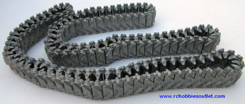 Heng Long Metal Track  For  RC Sherman Tank 3898 ( 2 tracks)