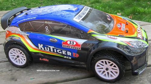 RC Sport Rally Car Electric 1/10 Scale Radio Control  4WD RTR 17793