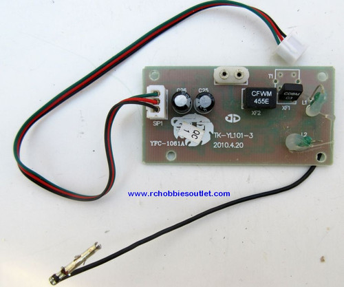 Heng Long Tank AM Radio Receiver Card