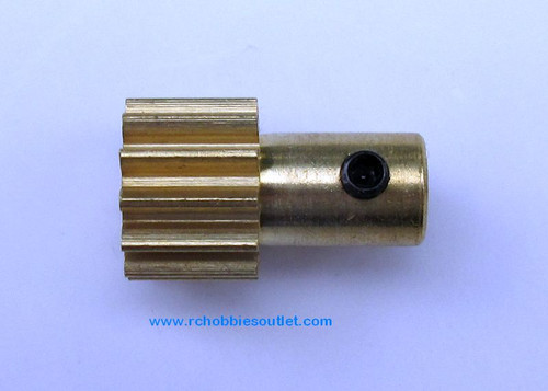 03012 Brass Motor Gear (12T) for 1/8 Scale Rock Crawlers