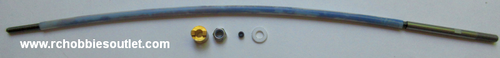 830109 4mm Flex Shaft Set For Bullet V3 Version Joysway Boat