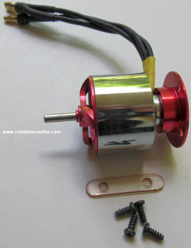 630201 Brushless Motor and Motor Mount For  Dragonfly Joysway RC Airplane
