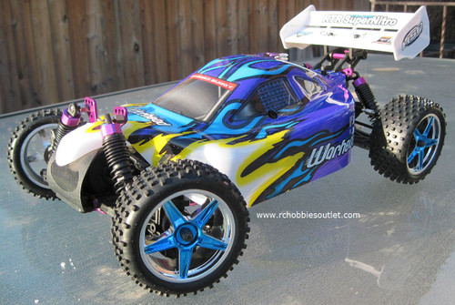 RC Nitro Buggy /Car HSP WARHEAD 2 Speed 2.4G 1/10 YX10071