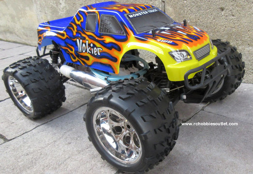 Nitro RC Truck 1/8 Scale   Nokier 4.57cc Engine  4WD 2 Speed  2.4G 08301