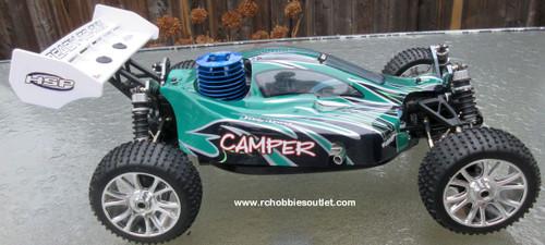 RC Radio Remote Control Nitro  1/8 Scale 4WD RTR RC Buggy / Car 81358
