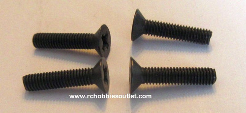 81220-5  Countersunk Head  Machine Screws 3x14mm 1/8 Scale For HSP, Windhobby, Redcat. etc.