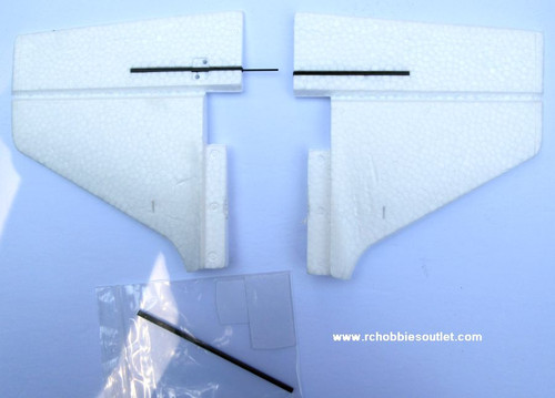 630207 Elevator Tail Set For Dragonfly  Airplane