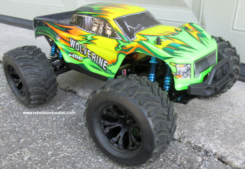 Wolverine Pro RC Truck Brushless Electric 1/10 4WD LIPO 2,4G 70193