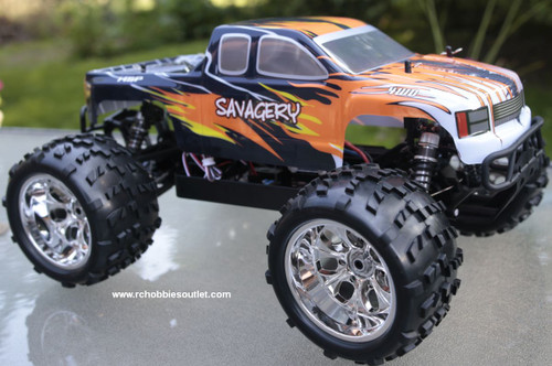 RC Brushless Electric Monster Truck Top 2 1/8 Scale 4WD 2.4G  86291