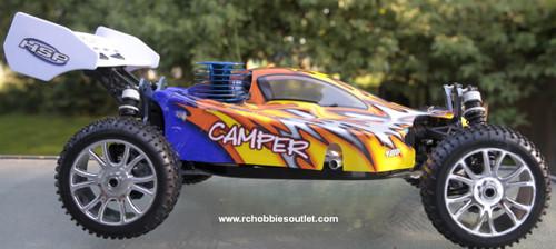 RC Buggy / Car  3.5cc Nitro Gas Engine 1/8 Scale  4WD 2.4G 81344