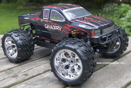 RC Brushless Electric Monster Truck Top 2 1/8 Scale 4WD 2.4G  96297