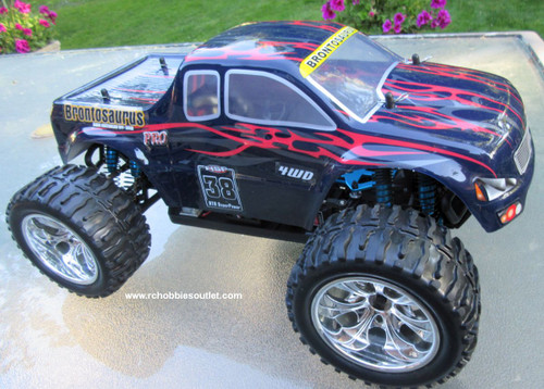RC Brushless Electric Truck 1/10 Scale  PRO LIPO 2.4G 4WD  88050