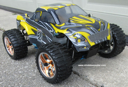 RC Nitro Gas Monster Truck HSP 1/10 Scale 4WD 2.4G RTR 10111