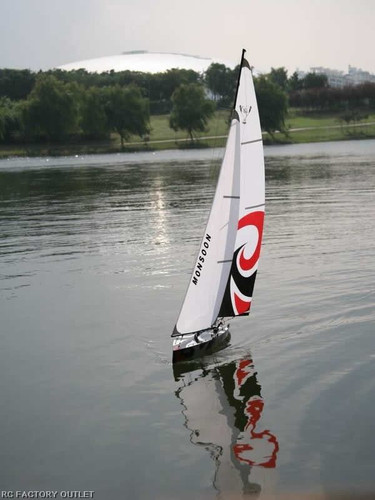 RC Sail Boat Yacht Sailboat  Monsoon Radio/ Remote Control RTR