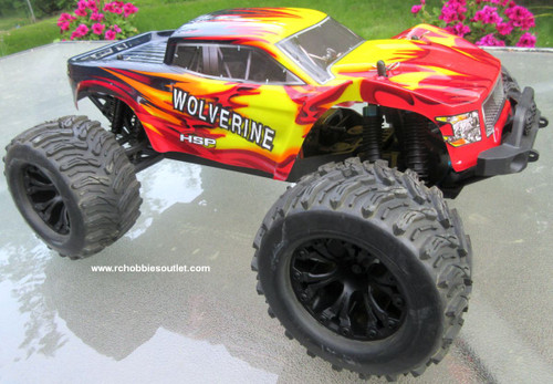 Wolverine  RC Truck Electric 1/10 Scale  4WD LIPO 2,4G 70192