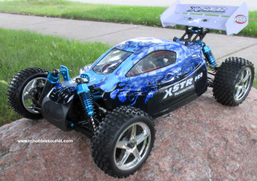 RC Buggy / Car  Brushless Electric HSP 1/10  XSTR-PRO LIPO 2.4G 4WD 10738