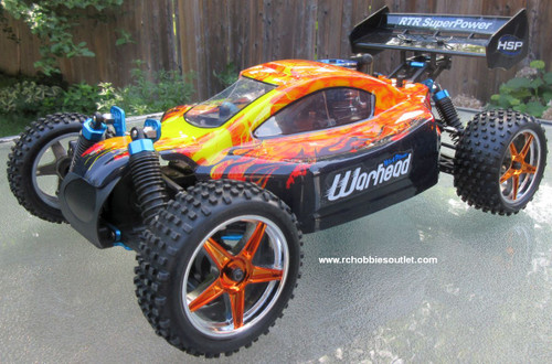 RC Nitro Buggy / RC Car  HSP WARHEAD 2 Speed 2.4G 1/10 RACE 10737