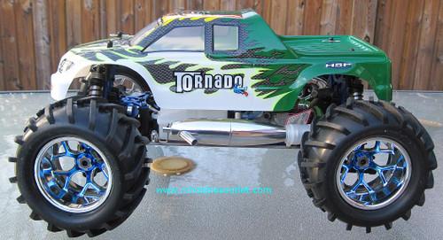 RC Nitro Truck 1/8 Scale Tornado Pro Radio Control 4WD   08318