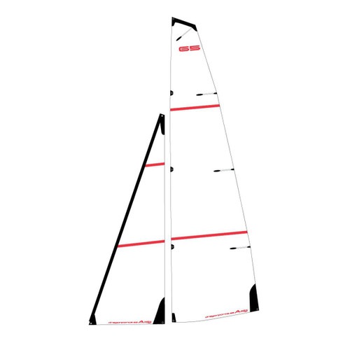 881509  Joysway 881509 Dragon Force 65 V6 A Printed Mylar Sail Set