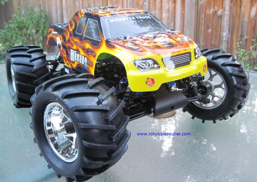RC Truck Nitro gas Tornado