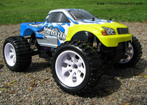 RC ELECTRIC TRUCK  1/10 Scale 4WD OFF ROAD RTR 4WD 25188-2