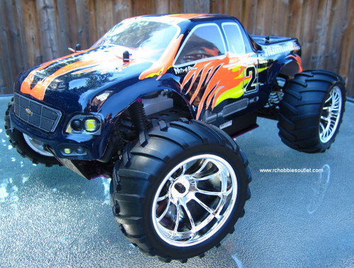 RC MONSTER TRUCK NITRO GAS HSP 1/10 4WD  RTR 2.4G 10325