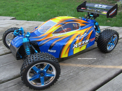 RC Brushless Electric Buggy / Car HSP 1/10 scale XSTR-TOP 11.1v LIPO 2.4G 10718