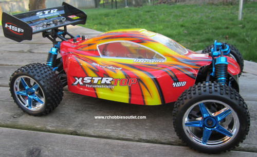 RC Buggy / Car Brushless electric 1/10 scale TOP2