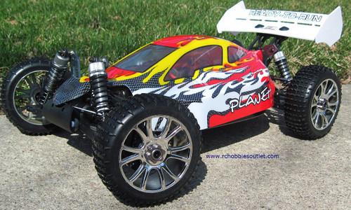 RC Car / Buggy  Brushless Electric 1/8 Scale TOP PRO LIPO 4WD  81355