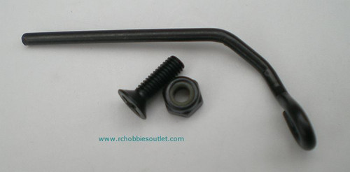 02059 Exhaust Pipe Holder with screw & nut HSP ATOMIC TYRANNO HIMOTO