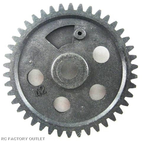 06033 THROTTLE GEAR 42T HSP ATOMIC Redcat HIMOTO ETC