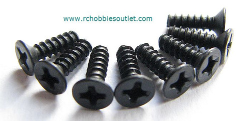 60086 Countersunk Self-tapping Screw 3*10 8P