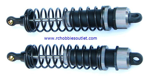 60003 Shock Absorber 2P 1/8 scale Silver