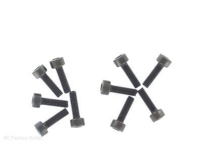 02093  3x10 CAP SCREWS ( 10 pieces) HSP ATOMIC TYRANNO HIMOTO ETC