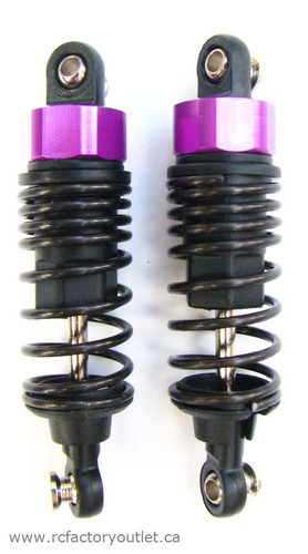 02002 SHOCK ABSORBERS 2 PCS 1/10 scale
