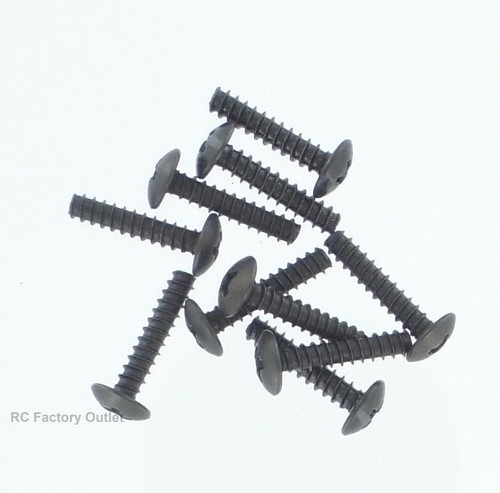 60080 Cap Head Self-tapping Screw 3*14   10Pieces
