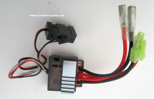 03058 ESC 1/16 SCALE ELECTRONIC SPEED CONTROL