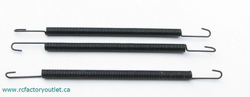 81012 EXHAUST SPRINGS HSP 1/8 SCALE BAZOOKA TORNADO ETC