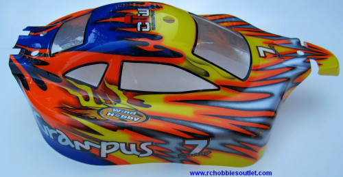 10706 HSP  RC BUGGY 1/10 SCALE BODY SHELL  precut