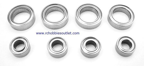 102068 WHEEL MOUNT BALL BEARINGS COMPLETE  02138 & 02139
