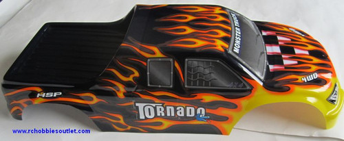 08304  NEW 1/8 RC TRUCK BODY -- Suit TORNADO or Nokier  Truck