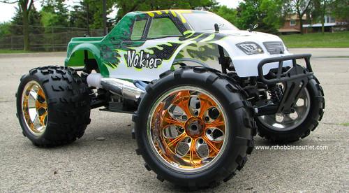 RC Nitro Truck 1/8 Scale  Radio Control Nokier 3.5cc  4WD 2.4G 08318