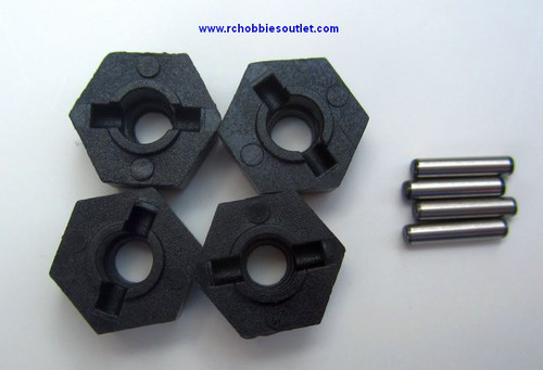 18016 Wheel Hex Nut  with Pins for Rock Crawler