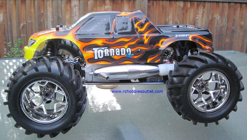 RC MONSTER NITRO TRUCK 1/8 Scale RADIO CONTROL  4WD  2.4G 08304