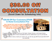 An In Home Consultation ($49.95) for a limited time.