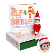 The Elf on the Shelf®: A Christmas Tradition Box Set includes girl scout elf w/ light skin