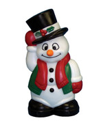 """19"""" Blow Mold Snowman Lighted Decoration"""