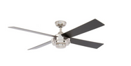 Hampton Bay Kemper II 52 in. Liquid Nickel Ceiling Fan
