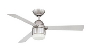 Designer Choice Antron 42 in. Satin Nickel Ceiling Fan